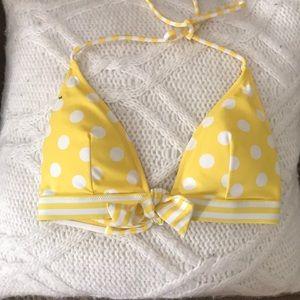 Victoria's Secret Swim - Victoria secret polka dot push-up bikini top